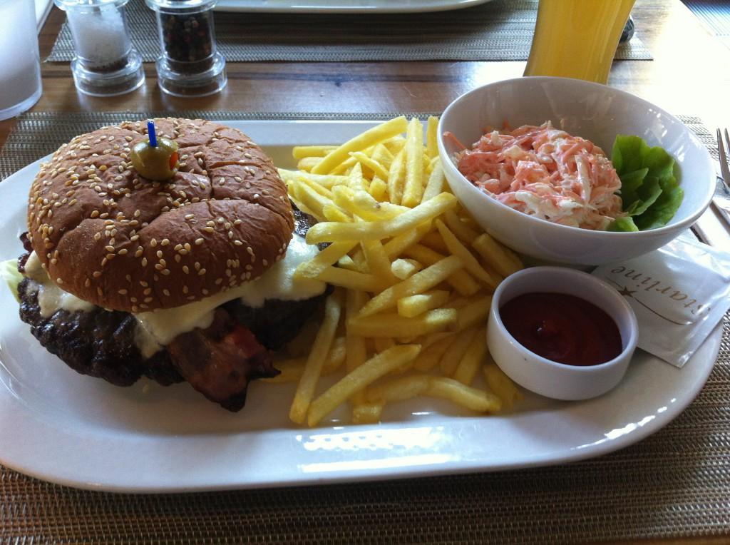 Central Bar Burger